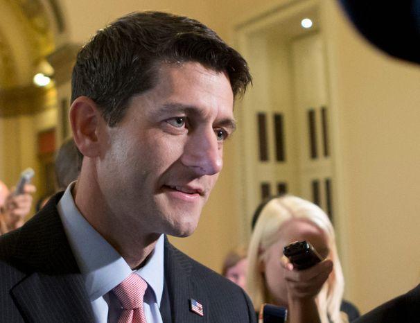 ** FILE ** Rep. Paul Ryan, Wisconsin Republican