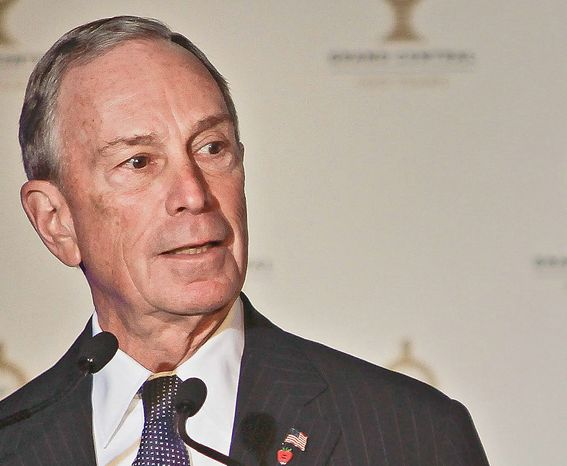 New York Mayor Michael R. Bloomberg could have some union-related trouble involving the Teamsters.  (ASSOCIATED PRESS)