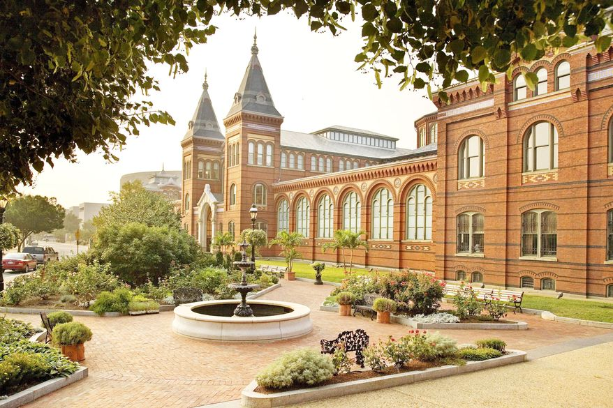 **FILE** In this undated photo released by the Smithsonian Institution, the Smithsonian Arts and Industries Building is seen in Washington. (Associated Press/Smithsonian Institution)