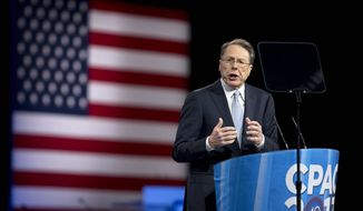 Wayne LaPierre, the National Rifle Association's executive vice president and CEO, speaks at the 40th annual Conservative Political Action Conference in National Harbor, Md., on Friday, March 15, 2013. (AP Photo/Manuel Balce Ceneta)