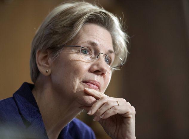 ** FILE ** Sen. Elizabeth Warren, D-Mass., on Capitol Hill in Washington, Thursday, March 7, 2013. (AP Photo/Cliff Owen)