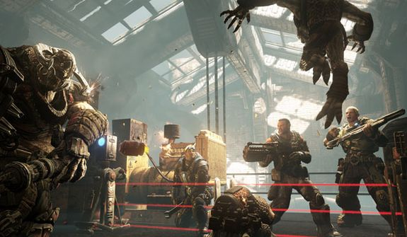 The multiplayer mode OverRun features COG vs. Locust in the video game Gears of War: Judgment.