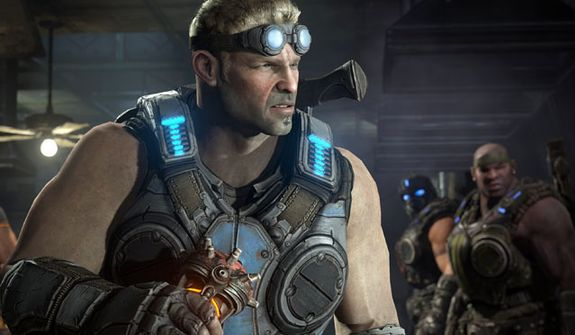 Meet Lt. Damon Baird from the video game Gears of War: Judgment.