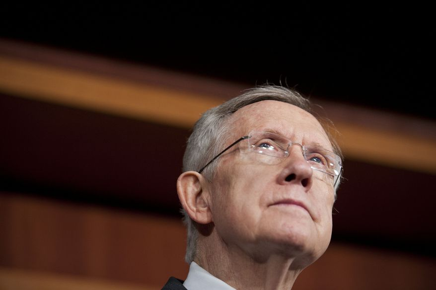 ** FILE ** Senate Majority Leader Harry Reid, D-Nev. (AP Photo/Cliff Owen)