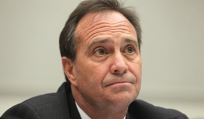 Rep. Ed Perlmutter, Colorado Democrat, says language tucked a in the stopgap spending bill to fund the federal government for the rest of the year clashes with the Obama administration's efforts to trace guns used in crimes. (Associated Press)