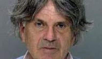 In this undated photo released by the Philadelphia Police Department, Philippe Jernnard of La Rochelle, France, arrested Wednesday March 20, 2013, at Philadelphia International Airport and charged with impersonating a pilot. (AP Photo/Philadelphia Police Department)