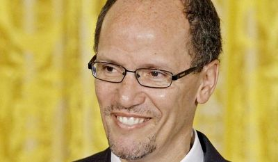 Former Justice Department lawyers question whether Thomas E. Perez, the department's Civil Rights Division chief, is the right choice to be labor secretary. (Associated Press)