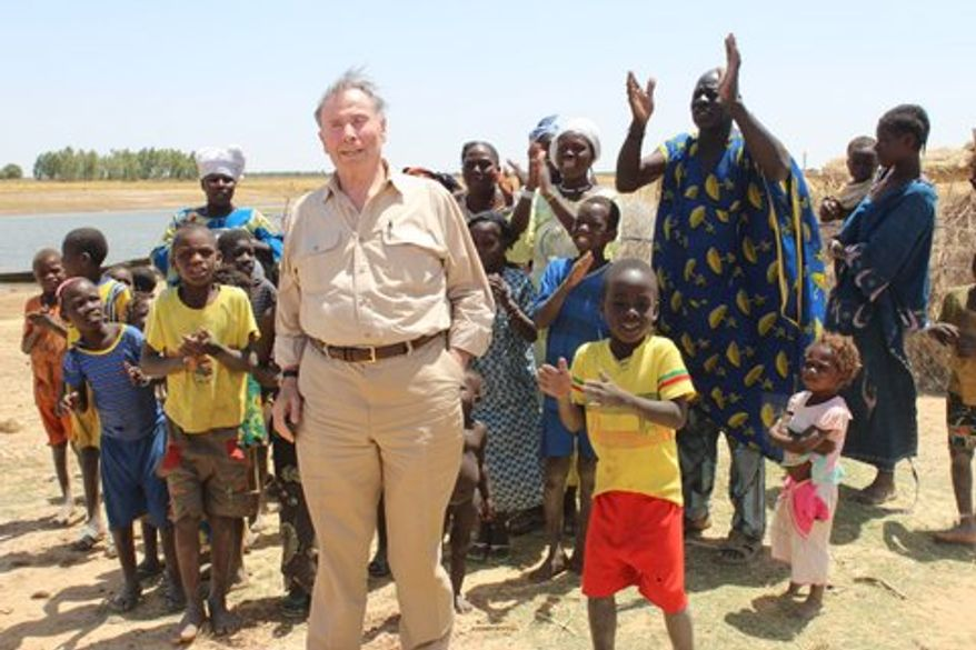 John Price, former U.S. Ambassador to the Seychelles, on his trip to Mali and Somaliland. (courtesy photo)