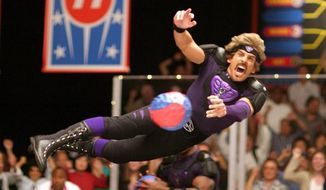 "Ben Stiller stars in 2004's ""Dodgeball: A True Underdog Story."" (Associated Press) ** FILE **"