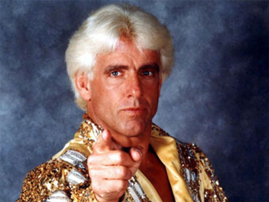 Ric Flair. (Associated Press) ** FILE **