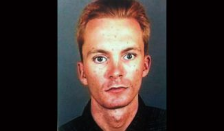Tobias Dustin Summers is a suspect in the abduction of a 10-year-old girl who vanished from her San Fernando Valley home early on Wednesday, March 27, 2013, and was abandoned hours later in front of a hospital. (AP Photo/Los Angeles Police Department)