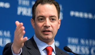 Reince Priebus has been the target of criticism over a 2012 election post-mortem report that has riled Republican Party conservatives. (Associated Press)