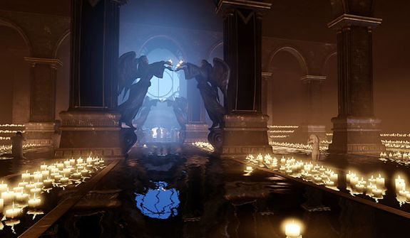 Look for some stunning locations in the first person shooter Bioshock Infinite.