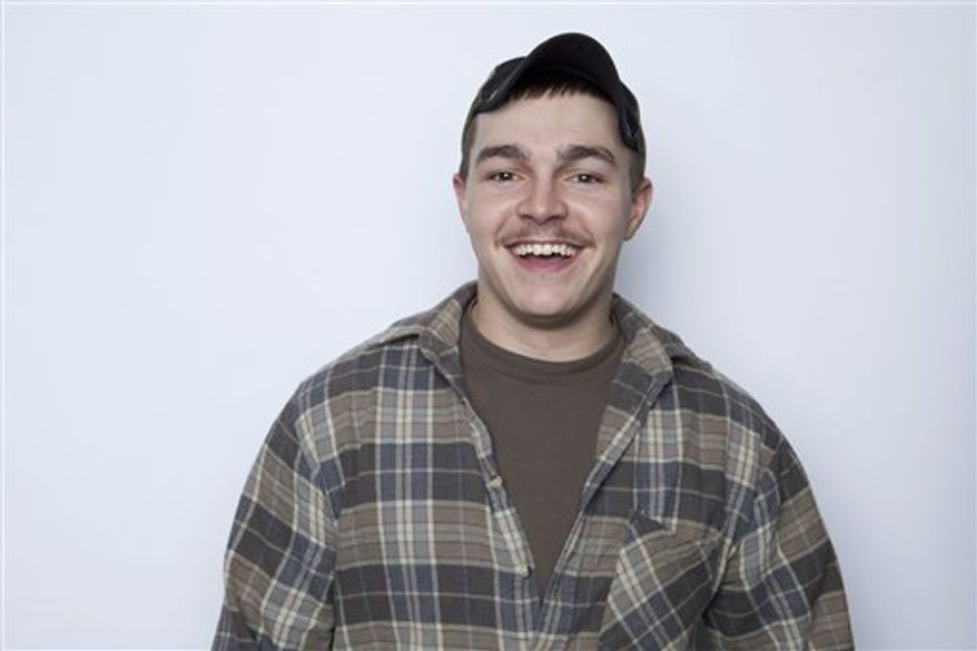 "Shain Gandee, from MTV's ""Buckwild"" reality series, was found dead Monday in a sport utility vehicle in a ditch along with his uncle and a third, unidentified person, authorities in West Virginia said Monday. (Photo by Amy Sussman/Invision/AP)"