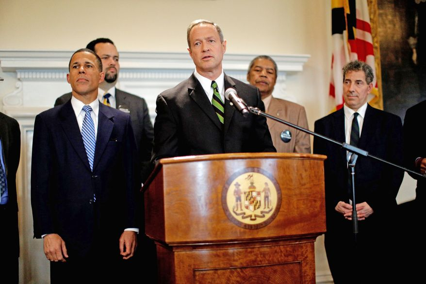 Gov. Martin O'Malley of Maryland is among the Democrats with potential White House aspirations who are pushing heavily liberal agendas in the buildup to 2016. (Associated Press)