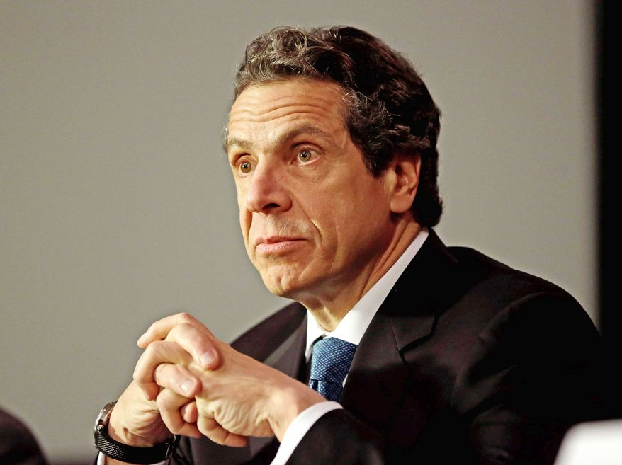 Gov. Andrew Cuomo of New York is among the Democrats with potential White House aspirations who are pushing heavily liberal agendas in the buildup to 2016. (Associated Press)