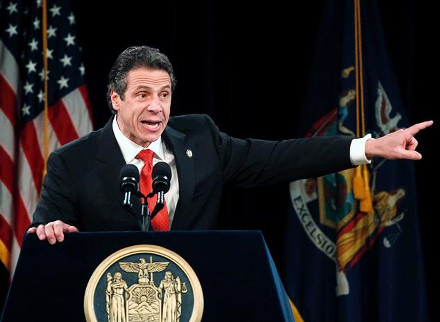 New York Gov. Andrew Cuomo (Associated Press)