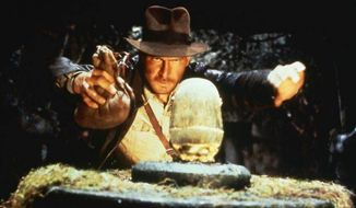 "Harrison Ford stars as Indiana Jones in 1981's ""Raiders of the Lost Ark."" (Associated Press) **FILE**"