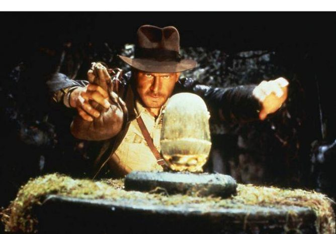 """Harrison Ford stars as Indiana Jones in 1981's """"Raiders of the Lost Ark"""". (Associated Press/File)"""