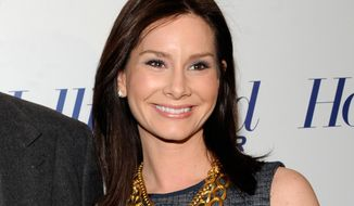 Newswoman Rebecca Jarvis attends The Hollywood Reporter's 35 Most Powerful People in Media event in New York on April 11, 2012. (AP Photo/The Hollywood Reporter, Evan Agostini)