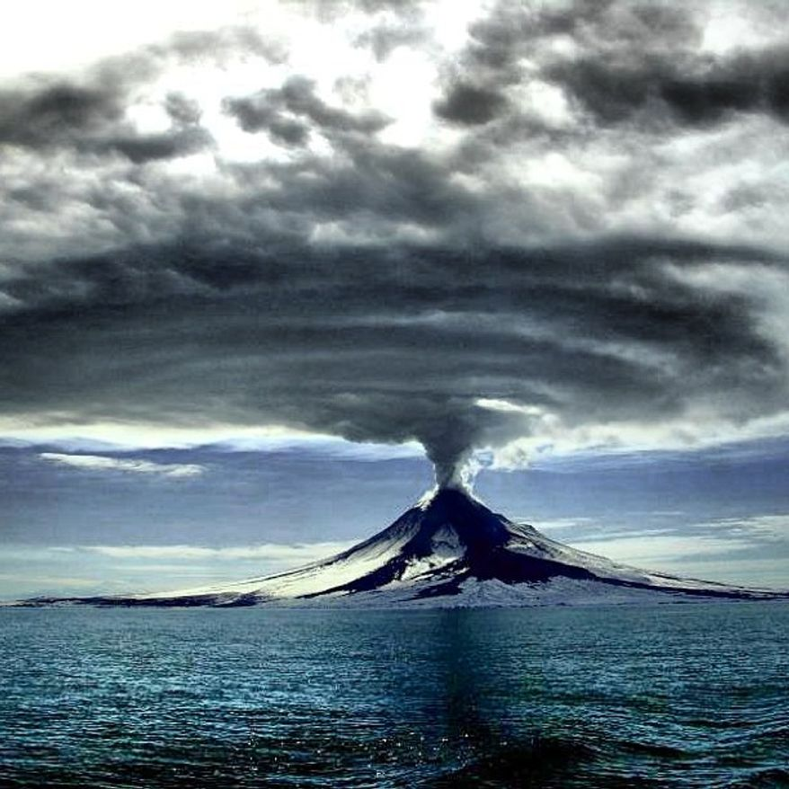 The U.S. Interior Department posted this photo on its Intagram page. The Alaska Volcano Observatory celebrated 25 years of monitoring and studying Alaska volcanos. (Credit: Interior Department)