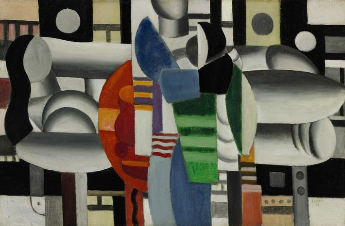"Pop signer Madonna put up for auction ""Three Women at the Red Table"" by Fernand Leger to support girls' education in Afghanistan, Pakistan and other countries. (AP Photo/Sotheby's)"