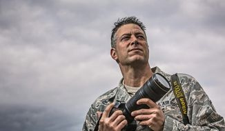 Master Sgt. Jeremy Lock (Andrew S. Geraci/The Washington Times)