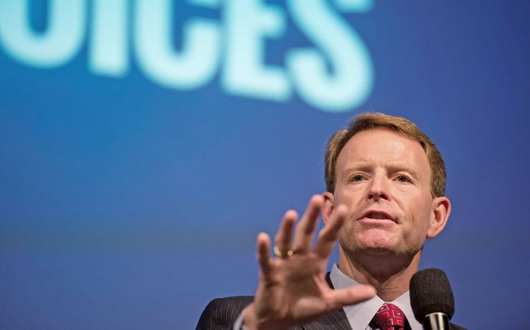 Family Research Council President Tony Perkins (The Washington Times) ** FILE **