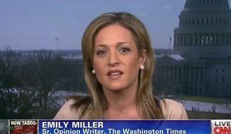 Emily Miller on CNN. April 3, 2013.