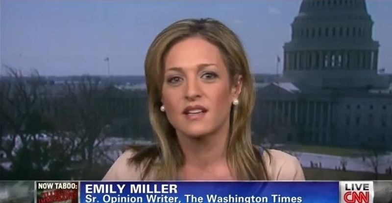 Emily Miller on CNN. April 3, 2013.