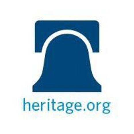 The Heritage Foundation logo.