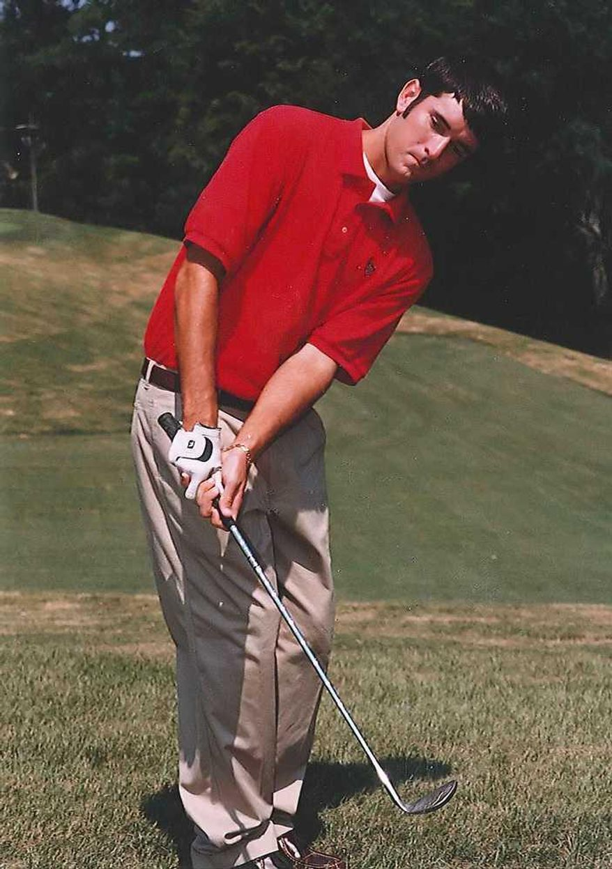 At the University of Georgia, Bubba Watson competed in only one tournament in his senior season on the golf team. (University of Georgia)