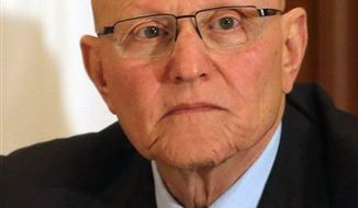 President Michel Suleiman of Lebanon has asked Tammam Salam, shown here on April 4 in Beirut, to form a new Cabinet. He was formerly a member of parliament and the minister of culture. (AP Photo/Ahmad Omar)