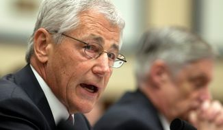 "Defense Secretary Chuck Hagel said fierce political resistance last year killed proposals such as base closures and increasing health care enrollment fees, which are included in the White House's $526.6 billion defense budget request. Mr. Hagel, however, noted times have changed, saying, ""We are now in a different fiscal environment."" (Associated Press)"