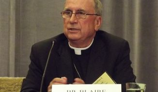 Bishop Stephen E. Blaire of Stockton, Calif. (Credit: Catholic News Agency)
