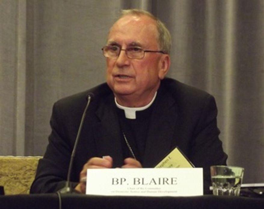 Bishop Stephen E. Blaire of Stockton, Calif. (Credit: Catholic News Agency)