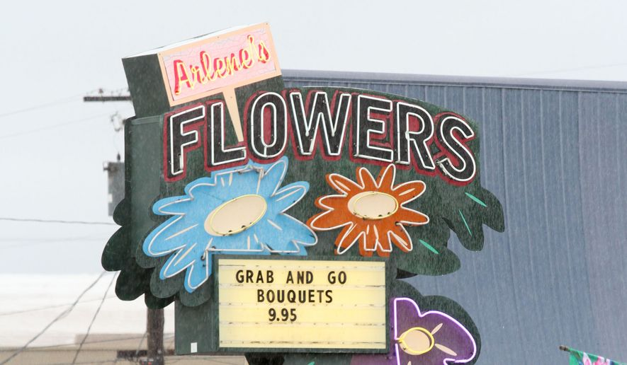 Barronelle Stutzman, owner of Arlene's Flowers and Gifts in Richland, Wash., is being sued by the state attorney general for refusing to provide flowers for a same-sex wedding. (AP Photo/Tri-City Herald, Bob Brawdy) **FILE**