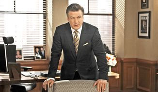 "Alec Baldwin portrays Jack Donaghy in a scene from ""30 Rock."" (AP Photo/NBC, Ali Goldstein)"