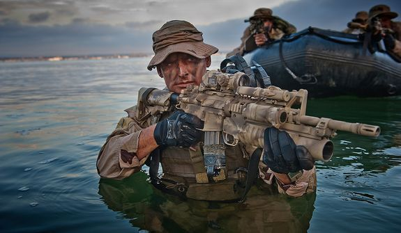 US Navy SEALs, SEAL Team One. Photo: (C) 2011 Greg E. Mathieson Sr. / NSW Publications, LLC