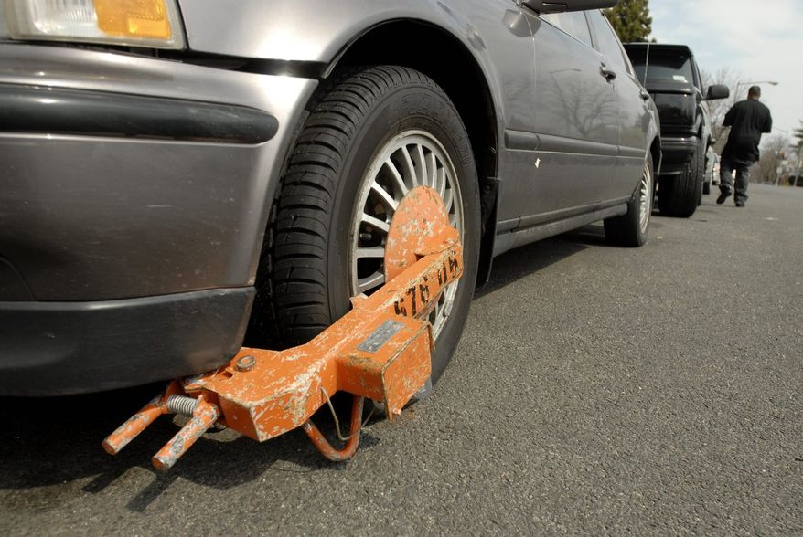 "Removing an attached ""boot"" costs $75 in Washington, D.C., but if the car is also towed, that's an additional $100  and that doesn't count the $40 per day at the impound lot, or having to pay the outstanding tickets and late fees. (The Washington Times)"