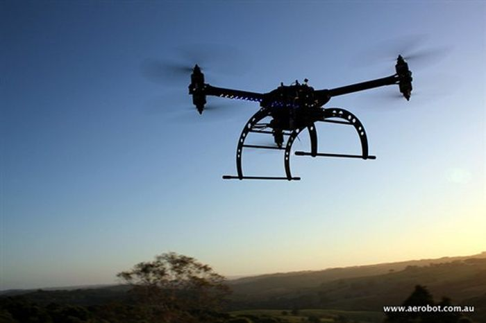 PETA's animal rights activists  plans to use this airborne, camera-equipped drone to spy on hunters.