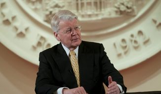 Icelandic President Olafur R. Grimsson (J.M. Eddins Jr./The Washington Times)