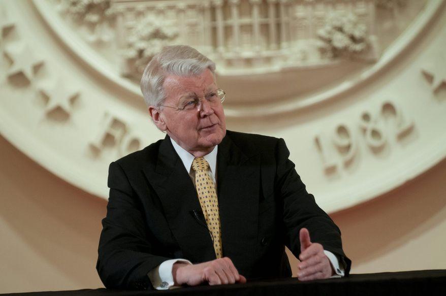 Icelandic President Olafur R. Grimsson (J.M. Eddins Jr./The Washington Times)