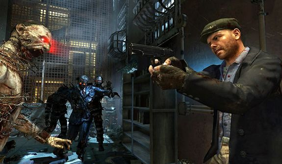 Actor Joe Pantoliano is Al Arlington in Mob of the Dead, a new zombie map in the first person shooter Call of Duty: Black Ops II - Uprising DLC pack.