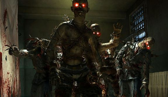 Zombies co-star in Mob of the Dead, a new adventure in the first person shooter Call of Duty: Black Ops II - Uprising DLC pack.