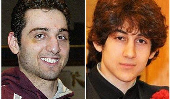 Tamerlan Tsarnaev (left) and his brother, Dzhokhar Tsarnaev