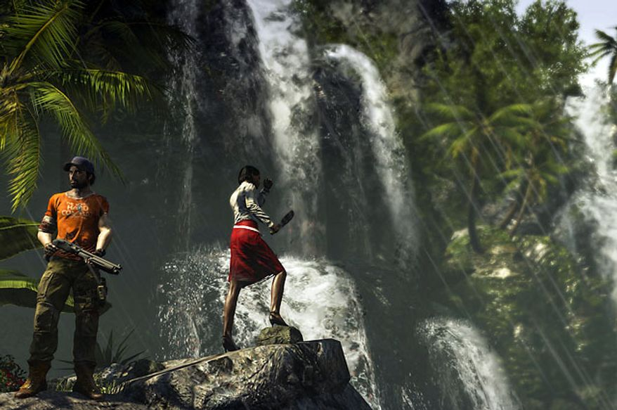 I can think of worse places to battle zombies than in the tropical paradise of the video game Dead Island: Riptide.