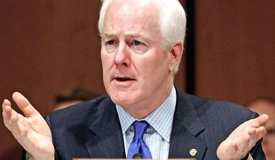 """""""Despite the promises made by President Obama  Obamacare is causing health insurance premiums to rise,"""" says Sen. John Cornyn, Texas Republican. A bill he has introduced """"would bring much-needed transparency to the onslaught of higher costs families will be facing."""""""
