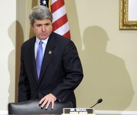 ** FILE ** Rep. Michael T. McCaul, Texas Republican (Associated Press)