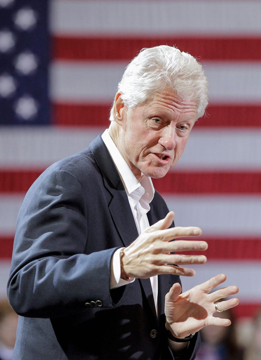 Former President Bill Clinton has embraced social media by opening a Twitter account. To join the 400,000 followers he has collected so far, find him at #Bill Clinton.